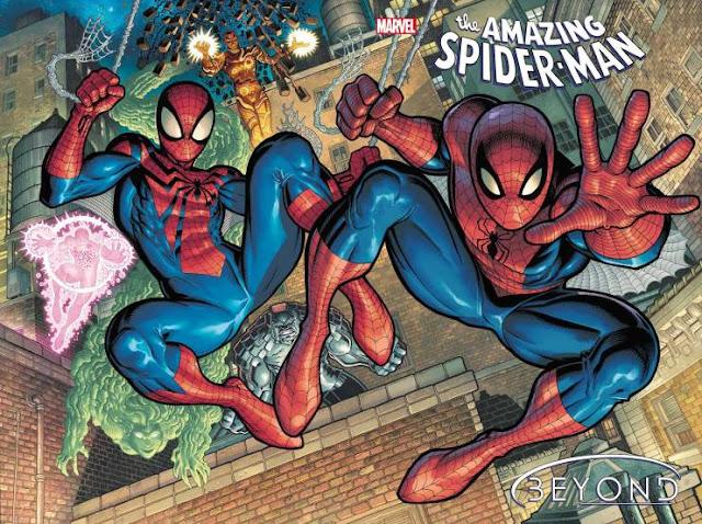 Marvel revela las portadas de 'Amazing Spider-Man' # 75-77