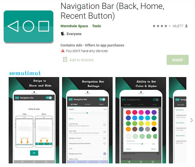 aplikasi pengganti tombol back home android