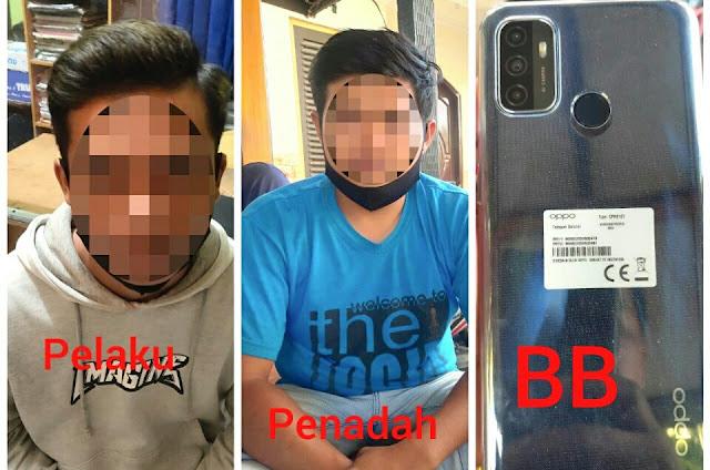 Bobol konter dan curi 8 Hp, pemuda 19 tahun diringkus Polisi