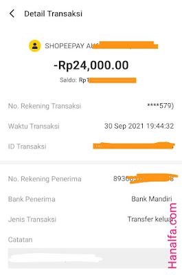 cara tarik saldo Neo+ Pl bakalus transfer ke Shopeepay dijamin berhasil menghubungkan withdraw uang dari rekening bank BNC ini buktinya