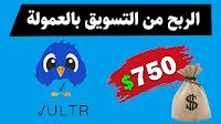 الربح من موقع Vultr