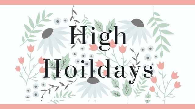 what is High Holidays