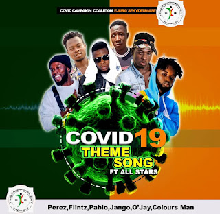 Covid19 Campaign Coalition - Together We Stand Ft All Stars