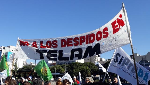 Colegio de Periodistas solidariza con colegas de Agencia Télam de Argentina