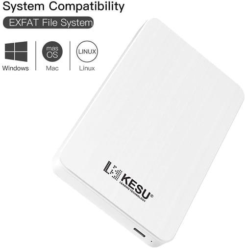 Review KESU 320GB KESU-2519 External Hard Drive