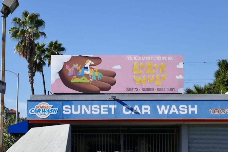 Lazor Wulf season 2 billboard