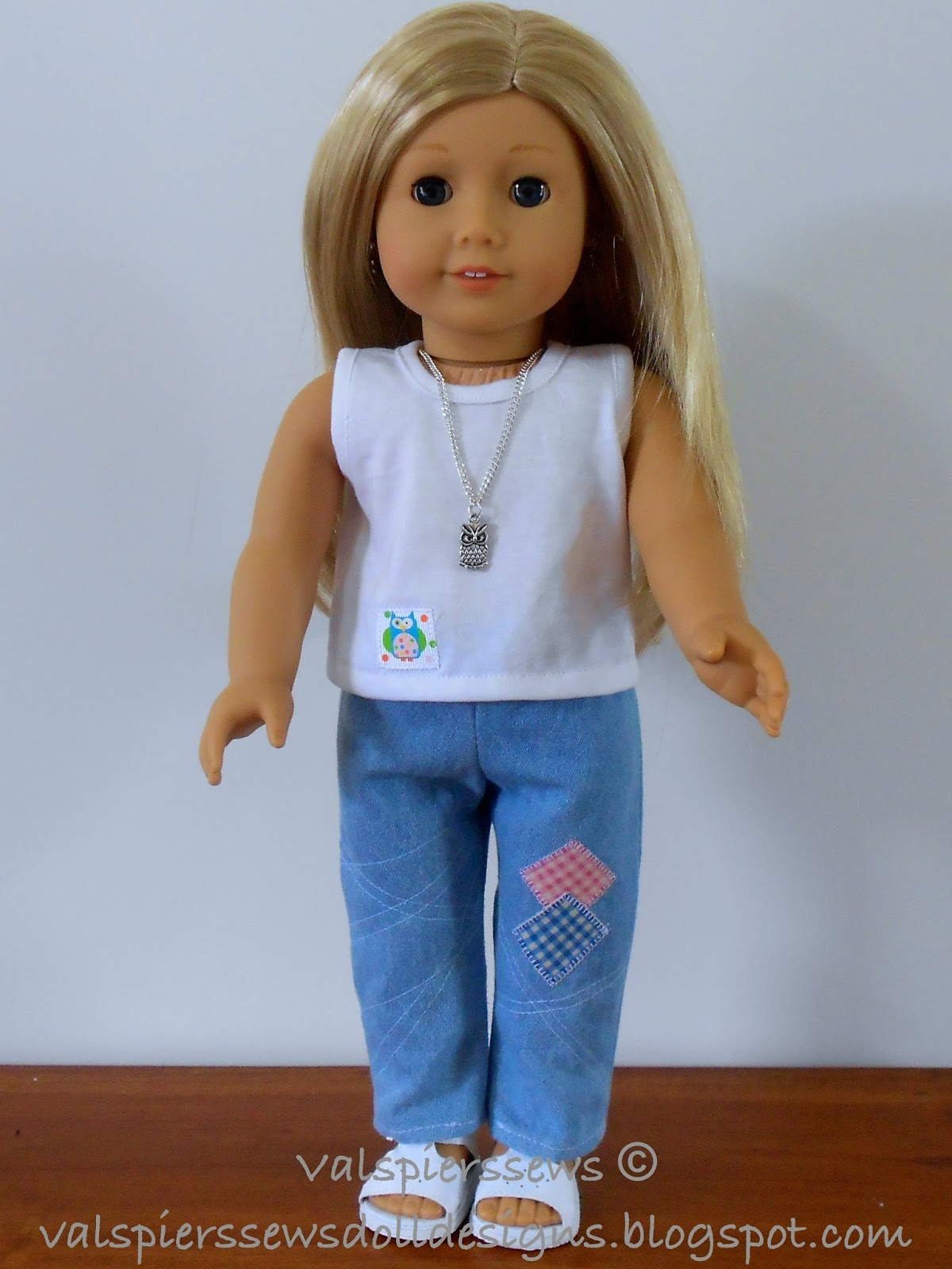 Doll Clothes Patterns By Valspierssews Review Of American: Doll Clothes Patterns By Valspierssews: How To Sew Doll