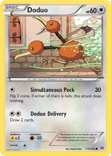 Doduo BREAKthrough Pokemon Card