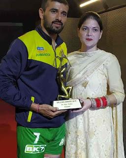 Ajay Thakur Win Arjun Award