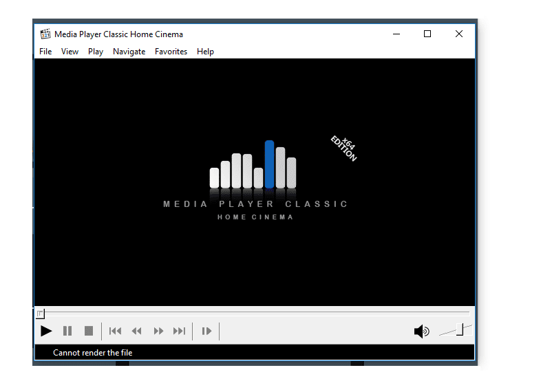 Video layar gelap
