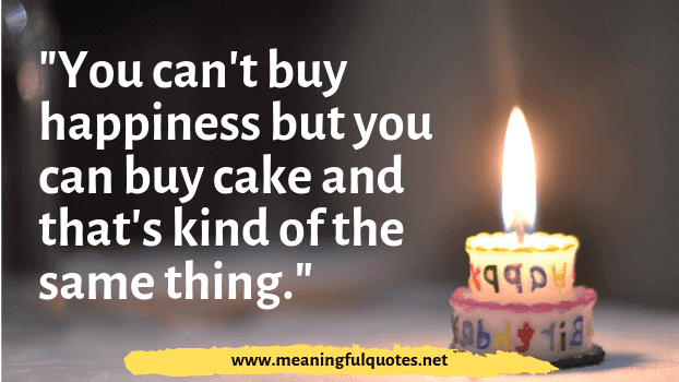 birthday cake quotes for friend