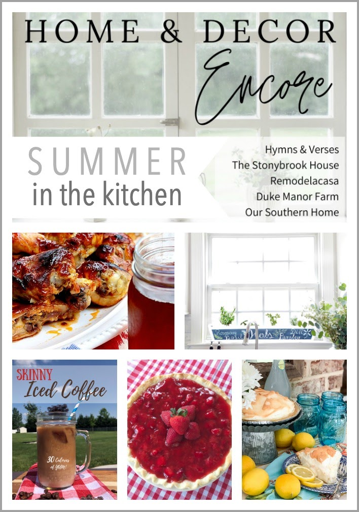 Home & Decor Encore Summer in the Kitchen