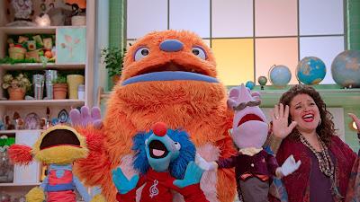 Children Kids Friendly Helping Sesame Street Puppets Monsters Helpful