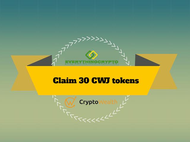 Claim 30 CWJ tokens (30$)