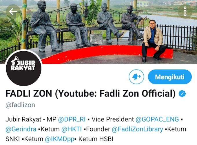 Hastag #FadliZonJubirBokep Trending Topik Medsos