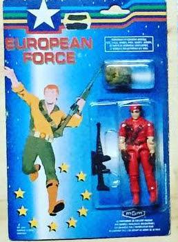 European Force Rendon, Dialtone, Dial Tone, Carded, MOC, European Exclusive, Bootleg