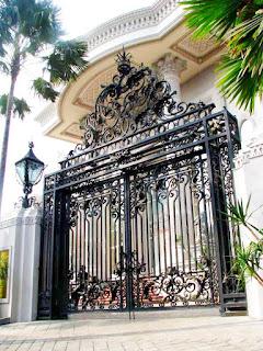Model Pintu Besi Tempa Klasik Jakarta
