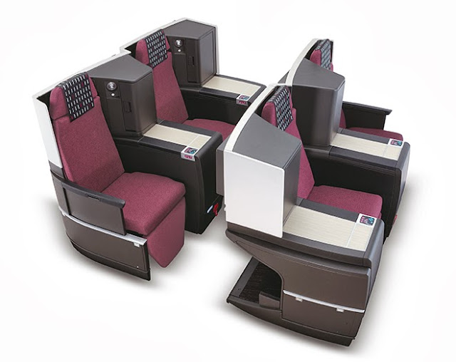 The new JAL SKY SUITE II seat