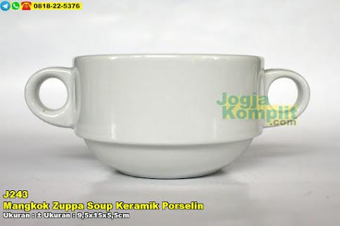 Mangkok Zuppa Soup Keramik Porselin