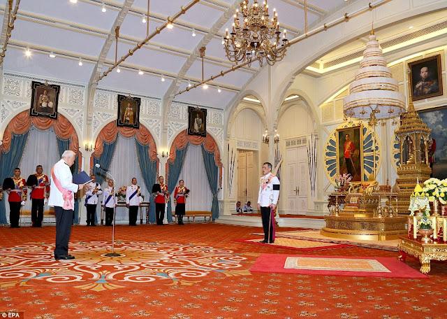 Thailand's Crown Prince Maha Vajiralongkorn ascends throne