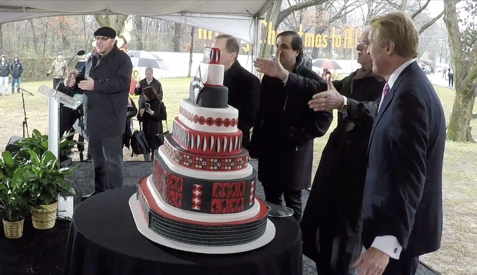 The Proclamation And Cutting Of Birthday Cake For 83th Elvis Presley Took Place 1000 AM In Memphis Tennessee