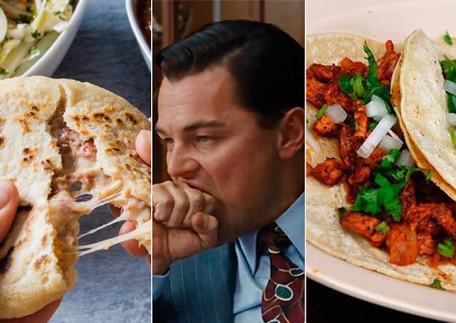 Memes of Pupusas and Leonardo Di Caprio