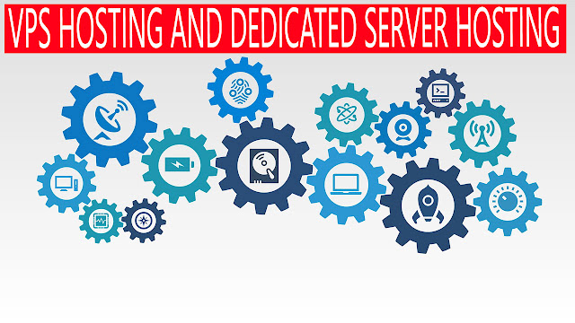 DIFFERENCE BETWEEN VPS AND DEDICATED SERVER HOSTING