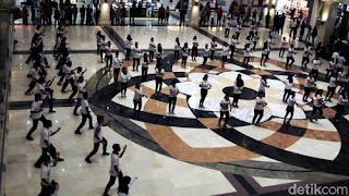 Ratusan Atlet Silat Memadati Plaza Ambarrukmo Yogyakarta