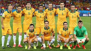 Skuad Susunan Pemain Australia