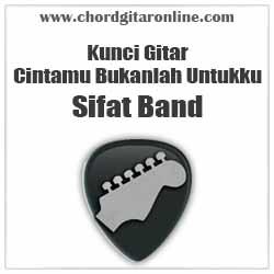 Chord Sifat Band Cintamu Bukanlah Untukku