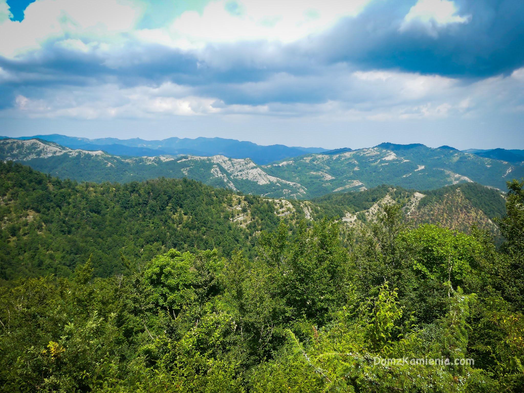 Dom z Kamienia blog, trekking w Toskanii, Crespino