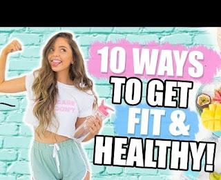 10 WAYS TO GET HEALTHY + FIT 2019! Fitness DIYs, Life Hacks + Recipes!