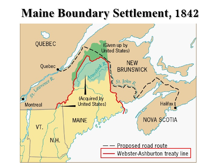 Boundary Dispute in Maine