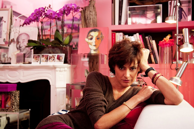 Decor Inspiration : At Home With Inès de la Fressange Designer, Muse and Model