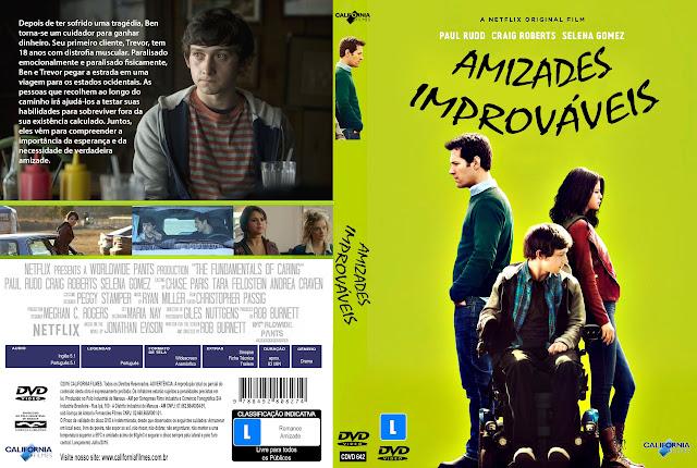 Capa DVD Amizades Improváveis