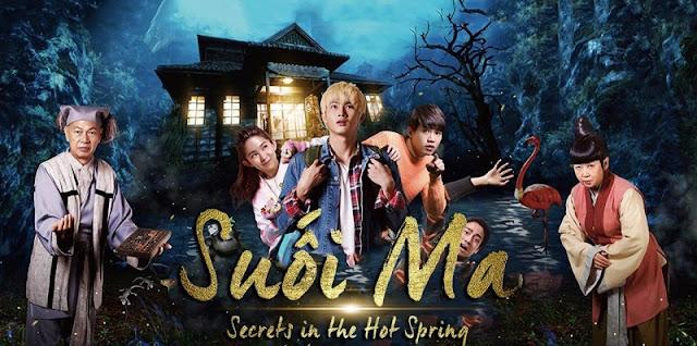 Suối Ma - Secrets In The Hot Spring (2018) - phim Hài hước kinh dị
