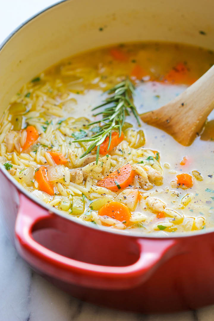 Chockfull of hearty veggies and tender chicken in a refreshing lemony broth. It is PURE COMFORT in a bowl!