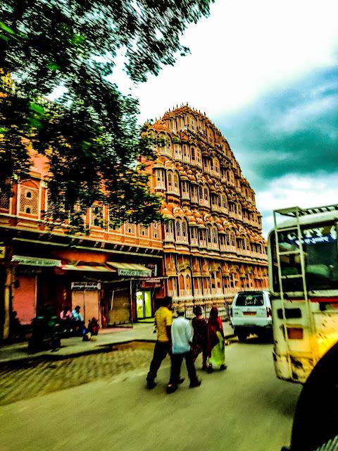 view Hawa Mahal Jaipur