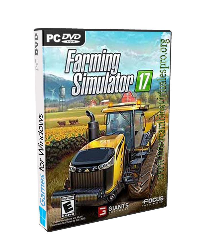 FARMING SIMULATOR 17 poster box cover