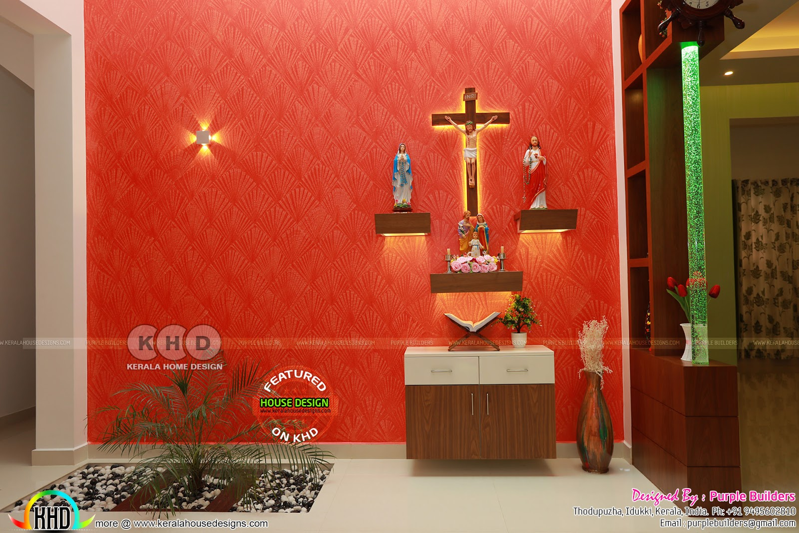 -prayer-room-home-kerala Kerala Home Plans With Front Porch on home plans with study, home plans with carport, home plans with windows, home plans with vaulted ceilings, home plans with den, home plans with front portico, home plans with covered patio, home plans with exterior, home plans with library, home plans with rooftop deck, home plans with side porch, home plans with barn, home plans with large rooms, home plans with pool, home plans with breakfast nook, home plans with french doors, home plans with basement, home plans with staircase, home plans with open floor plan, home plans with master bathroom,