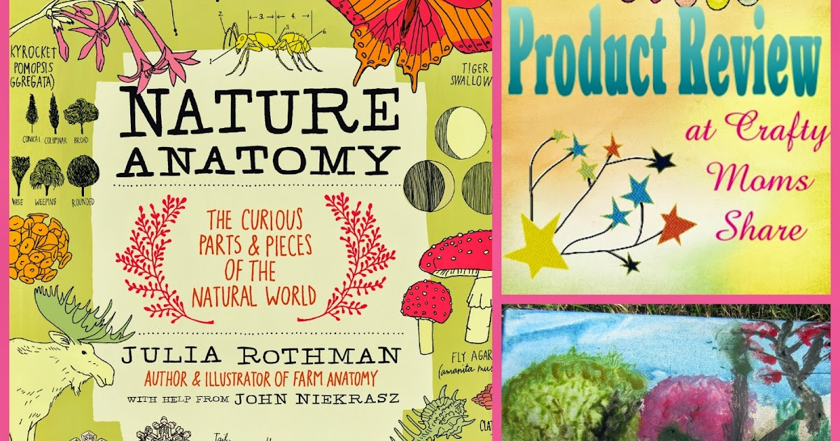 Crafty Moms Share: Nature Anatomy Book Review to Celebrate the Earth