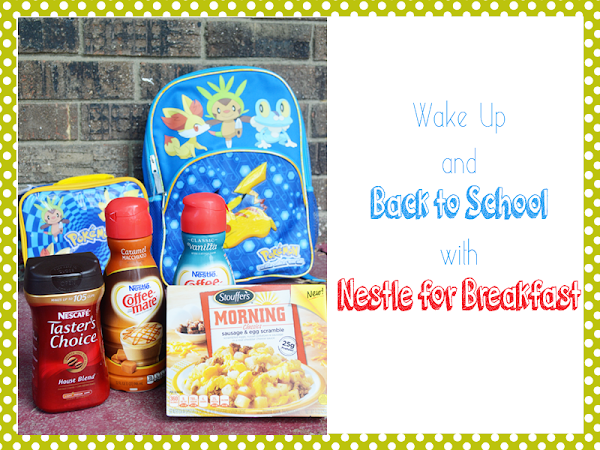 Wake Up & Get Back to School with NESTLE for Breakfast {#MyGoodLife #shop #CollectiveBias}