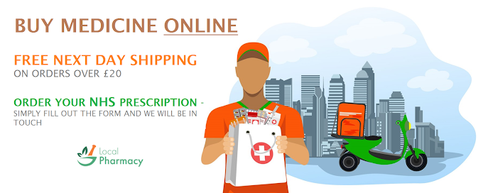 UK Prescription Medicals Online - Free Next Day Delivery
