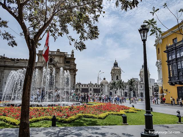 Centro Histórico de Lima, Peru