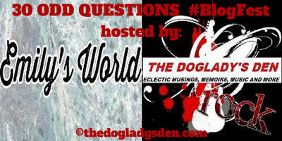 30 Odd Questions BlogFest