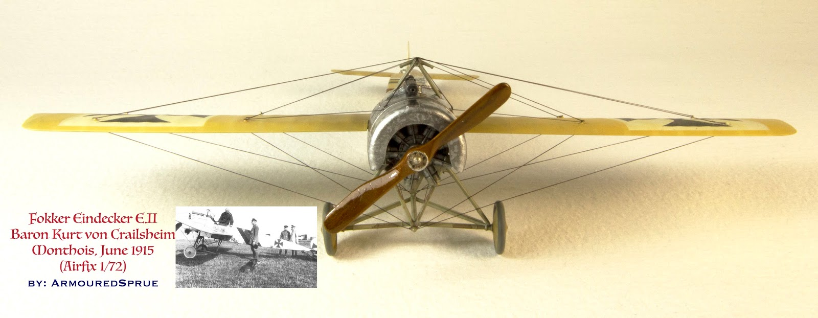 Fokker E II (Airfix 1/72) - Ready for Inspection - Aircraft