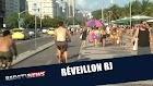 Em contagem regressiva para o Réveillon, turistas lotam as prais do Rio