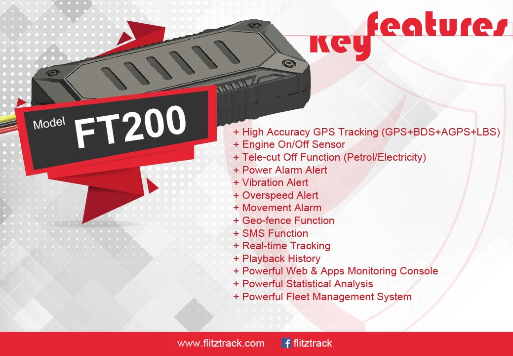 GPS Tracker Vehicle System - Flitztrack Kuala Lumpur: GPS Tracker