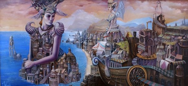 06-Dreamand-Tomek-Sętowski-Oil-Paintings-Magical-Realism-meets-Surrealism-www-designstack-co