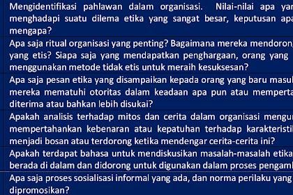 Organisasi Memainkan Peranan Penting dalam Memandu Tindakan Seseorang